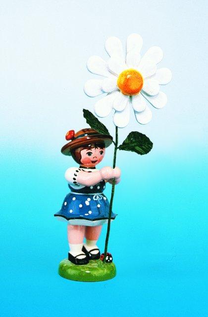 Blumenmädchen mit Margerite