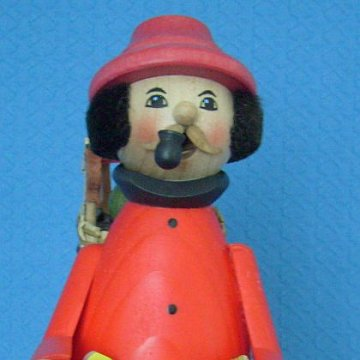 Spielzeughändler rot