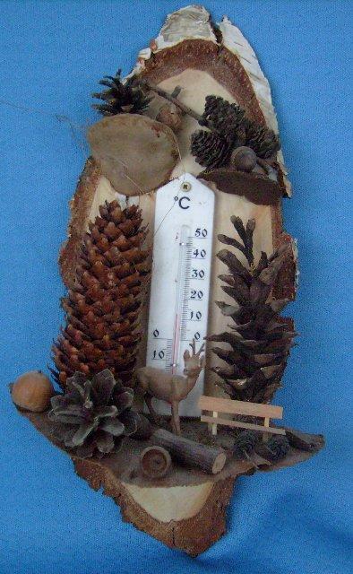 Zimmerthermometer Waldmotiv