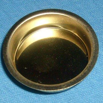 Messingeinsatz für Teelichter