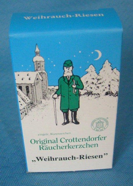 Crottendorfer Räucherkerzen Weihrauch- Riesen