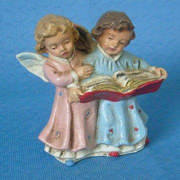 2 Engel mit Gesangbuch