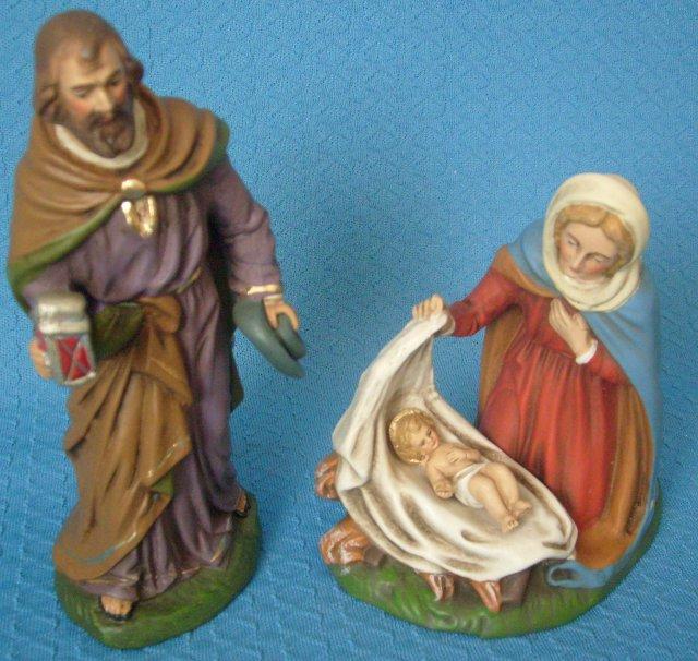 Heilige Familie 12cm (Vorrätig: 1 Gruppe)