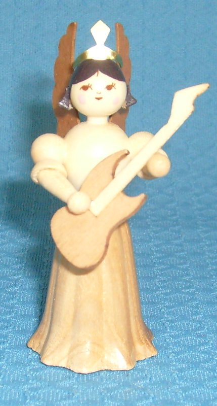 Engel mit E- Gitarre