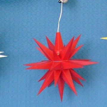 Set weiß - rot - gelb 13 cm