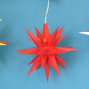 Set rot/gelb - rot - rot/weiß 13 cm