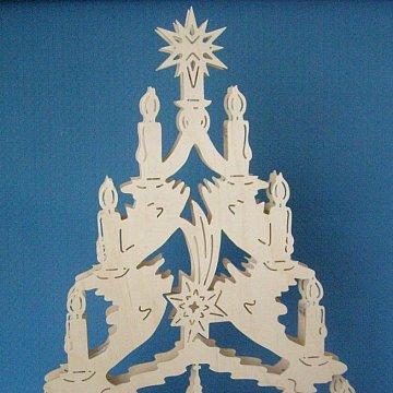 Baum Seiffener Kirche