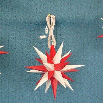 Set rot - weiß 13 cm